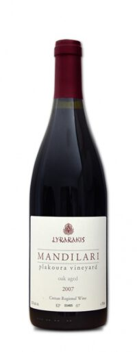 2007 Lyrarakis Mandilari Plakouria Vineyard