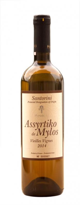 2016 Hatzidakis Assyrtiko de Mylos